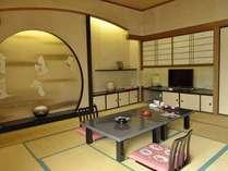 最上階【和室10~12・5畳】見晴らしの良い眺望が自慢!和室一例(2号館7階客室)