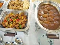 *和洋中、約40種類の料理がずらり/夕食バイキング