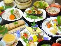 【四季彩ご膳】ヘルシー重視に厳選した月替わり献立の会席料理