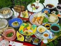 松茸や秋の食材で献立した、秋の味覚会席