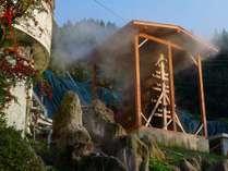 湯雨竹(ゆめたけ)、自然温度調節で源泉100%の掛け流し温泉が可能となりました。