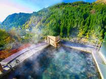 緑溢れる自然に囲まれて、かけ流しの良質な温泉にに浸かる贅沢なひと時。まさに『3大名湯』
