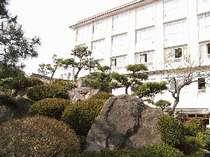 石和温泉 ホテル平安 大庭園露天風呂24時間入浴OK