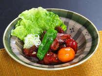 *B級甲州鳥もつ 甲州の恵みがギュッと詰まった郷土料理一例です。