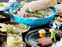 【人気の松風がリニューアル】 おまたせいたしました。日本料理松風ディナーフェア 烏賊会席プラン