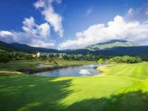 【ゴルフ1プレー】1泊2食付 ~ご宿泊日の翌日にゴルフ1プレー~