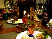 美味しいワインやお酒と共にフルコースディナーをゆっくり楽しんで下さい。