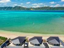 【ビーチ】人と自然が呼応しあう、奄美大島の海辺に佇むビーチフロントヴィラです。