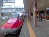 ◆JR秋田駅までは当館から車で約5分。複数の駅ビルとも通路でつながっています。