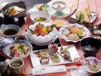旬の食材使用の会席料理のイメージです。