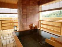 ■露天風呂付客室のお風呂一例