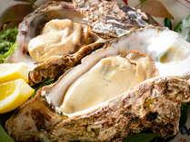 ■大きな能登岩牡蠣!濃厚&食べ応え十分!※写真は2名様分