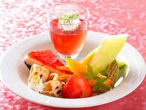 ■特選デザート一例♪料理長お奨めフルーツなどを盛合せ♪