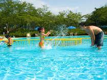 ★加賀最大級「森のプール」で、夏の想い出もバッチリ♪