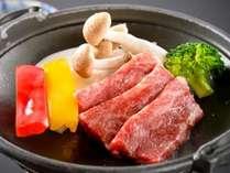 3大グルメプラン★上質な肉と脂のハーモニー、国産黒毛和牛の陶板焼♪