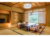 ■プレミアムスイート■広々とした客室で辻のや1番の贅沢時間をどうぞ。