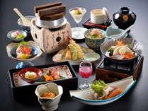 【お料理一例】 ※お料理内容、品数等、変わる場合がございます。