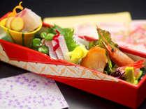 ■お料理一例■北陸と言えば『鮮魚』総料理長が自ら仕入れした旬魚たちが並びます。