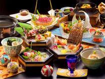 ■玉手箱会席―TAMATEBAKO―■新鮮な魚介を楽しみたい方におすすめ!北陸の美味が勢ぞろい。