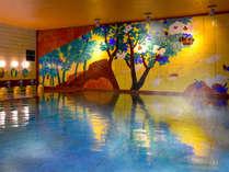 ■女性大浴場■『美人の湯』としても有名な粟津温泉。すべすべになれるとご好評いただいております。