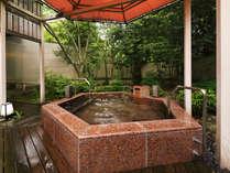 ■花廻湯■庭園露天風呂『さくらの湯』四季の移ろいを感じつつ身体の芯から温まる。