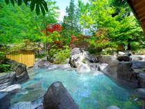 ◇源泉かけ流し!『庭園露天風呂』から見える大自然に日常を忘れて…「心」も「体」もリラックス♪◇