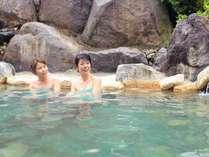 【温泉大浴場】男女別11種の湯船で湯めぐりをお楽しみください。