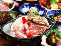 """【ブランド豚""""JAPAN X""""の陶板焼き】豚特有の臭みが無いため、本来の脂の旨みが際立ちます!"""