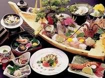 初夏のポッキリ10000円のお料理♪鯛・伊勢海老・サザエ等の舟盛り目の前で炊き上げる釜飯など・・