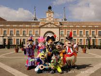 スペイン村のキャラクターたち!新衣装で・・・♪