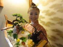 【グループ★団体様におススメ!特典付!】真鯛・伊勢海老大漁盛り!一泊2食付で8000円~!