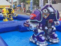 バトルキング対戦!みんなでロボットに乗って戦おう♪
