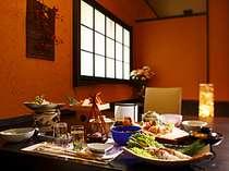 個室食事処♪(料理は一例),静岡県,牧水荘 土肥館