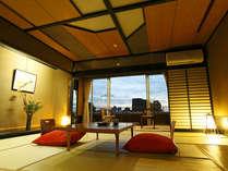 【2011年以降新装】リニューアル客室和室10畳又は12.5畳(一例)~昼景~,静岡県,牧水荘 土肥館