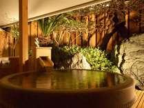 露天風呂付きの客室で優雅な時間を。。。