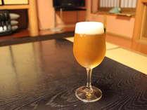 冷た~いビールはいかがです♪