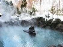 冬の露天風呂は最高に気持ち良いですね