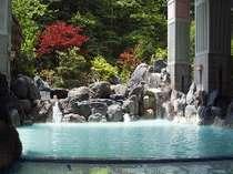 まほろば自慢の日本最大級の露天風呂