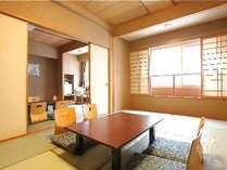 <大部屋>和室12畳+8.5畳の9名様定員のお部屋です。