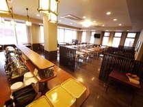 レストランがリニューアルいたしました。営業時間6:30~9:00宿泊者は無料でお食事できます。