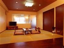家族風呂のある和洋室スイート GradeUpな客室で2食付きプラン(202)