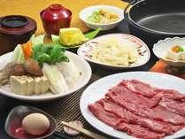 すき焼き食べ放題プラン 「豪州産まろやか牛」(和室)