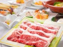 国産黒毛和牛を地元野菜と一緒に召し上がれ♪