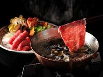 【しじみ牛しゃぶの特別会席】しじみの滋味スープでいただく牛しゃぶは絶品!