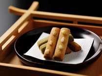 神饌の要素を取り入れた界 出雲オリジナルのお菓子「みたまのふゆ」