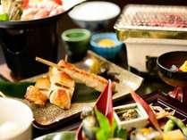5%オフ!【早期割14/比内地鶏づくし】◆秋田名産比内地鶏を堪能 創作和膳フルコース~1泊2食付~
