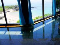 【展望風呂】玄界灘を眺める展望浴場が男女1ヶ所ずつございます