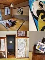 和室8畳:和モダンをテーマにしたお部屋になっています♪