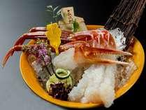 【一人旅】越前蟹フルコースを大人食い♪ゆで蟹・蟹刺身・焼き蟹を全部一人で食べる![K009]