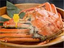 熱々の茹でたて越前蟹は格別